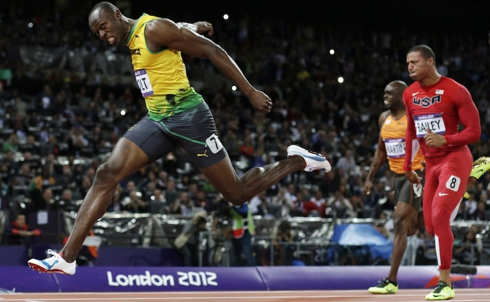 Click here to read Usain Bolt Outruns Human Nature