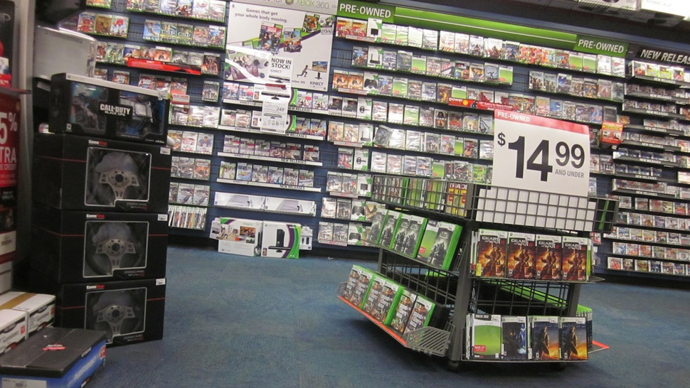Gamestop Exec Says 70% of Used Game Credit Goes to Buying New Releases