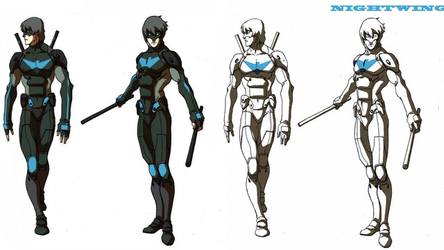 For nightwing fans who watch young justice and are fed up dick grayson comic vine - Pictures of nightwing from young justice ...