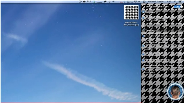 Click here to read Customize OS X Mountain Lion's Notification Center Background