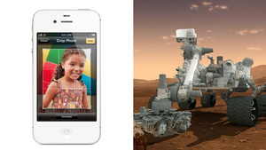 The iPhone Is Literally Four Times as Powerful as the Curiosity Rover