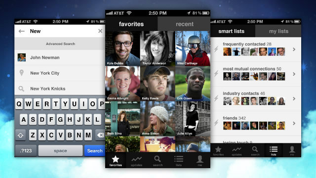 Click here to read Brewster Beefs Up Your iPhone Address Book with Search Powers, Social Networks