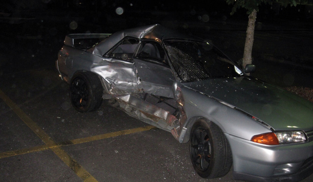 Police Are Looking For The Oregonian Who Destroyed This Awesome Nissan Skyline GT-R