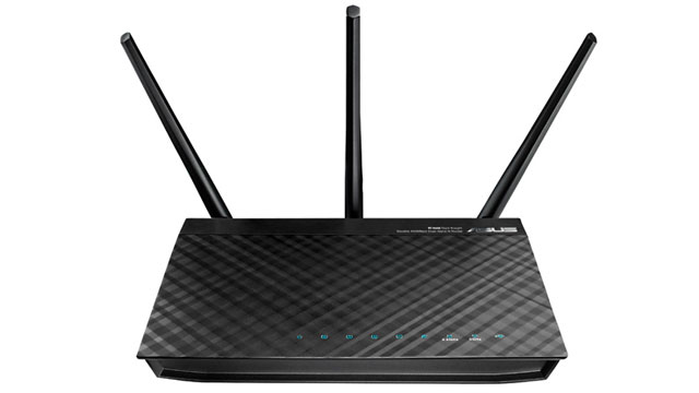 "Click here to read The Asus RT-N66a ""Dark Knight"" Router Delivers Stellar Network Performance and Features"