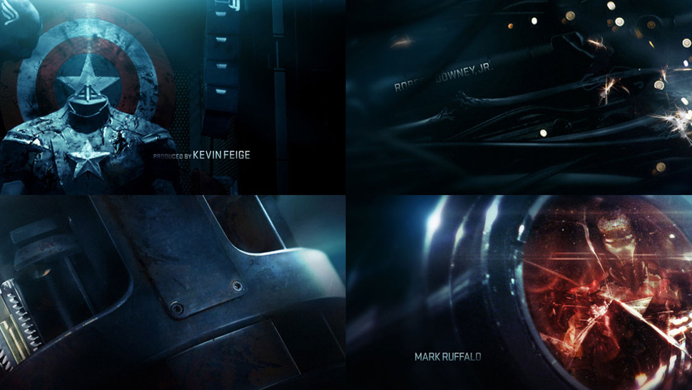 Breakdown of <em>Avengers</em> title sequence reveals Nick Fury's holster and Black Widow's stinger