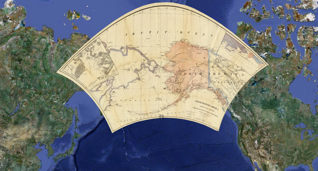 Click here to read Old Maps Layered on Google Maps: Where Were You in High School Geography?