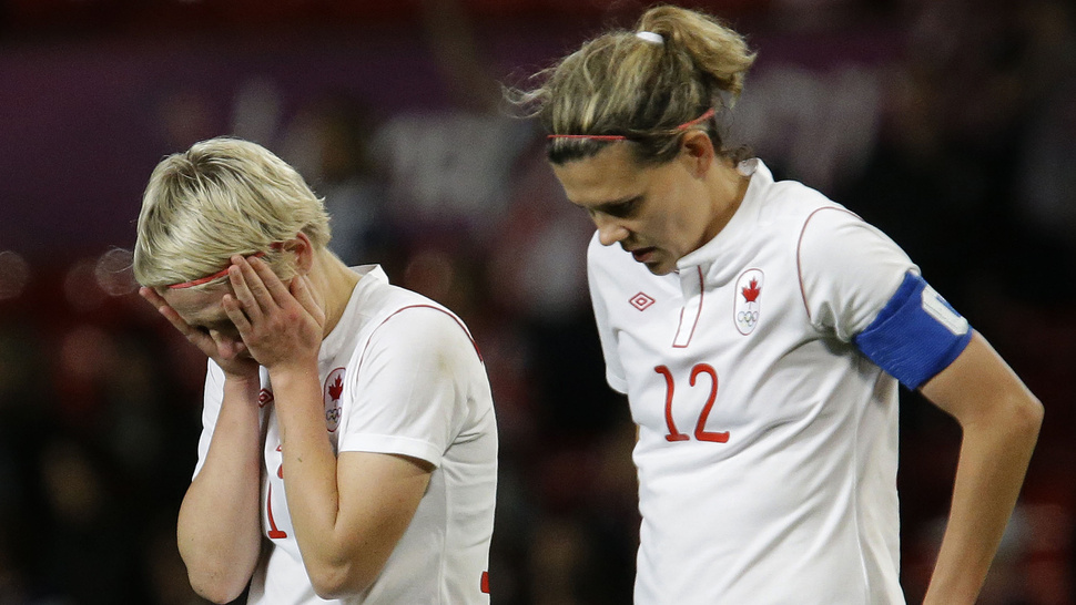 Canadian Women's Soccer Players May Face FIFA Discipline For Claiming Yesterday's Semifinal Was Rigged