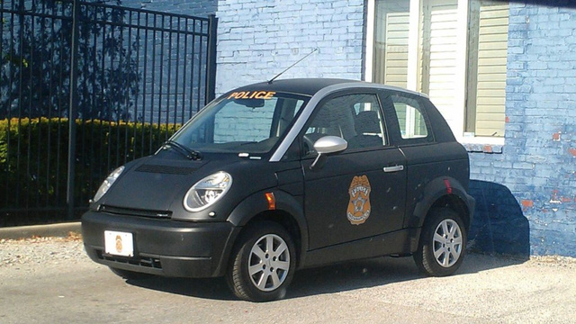 The Indianapolis Police Have The Cutest Little Electric Cop Car Ever