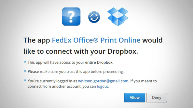 FedEx Now Lets You Print Documents from Dropbox, Google Drive, and Box