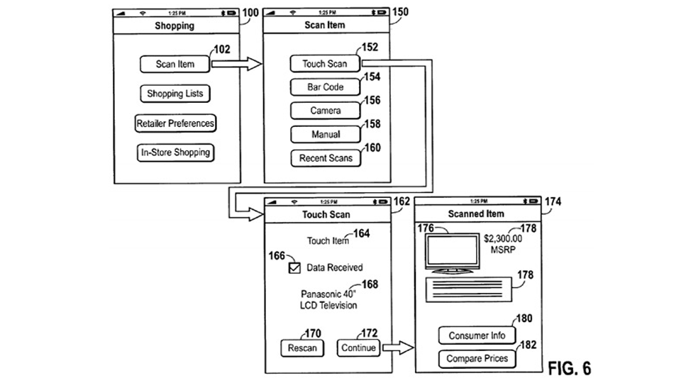Click here to read Apple's Latest Passbook Patent Is for Shopping