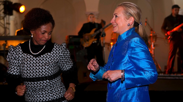 Hillary Clinton Runs the World and the Dance Floor