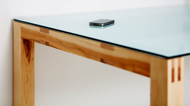 Where Is This Beautiful Table Hiding an AirPlay Speaker?