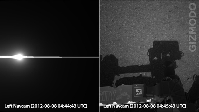 Curiosity Opens Her Eyes for the First Time (Updated With Panorama Images)