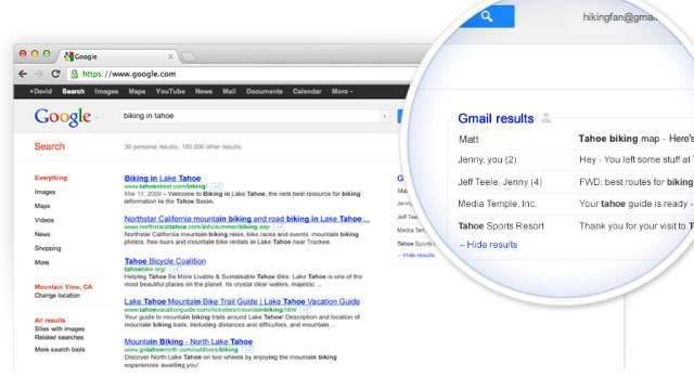 Search Gmail and The Web at The Same Time—Sign Up for Google's Field Trial Now