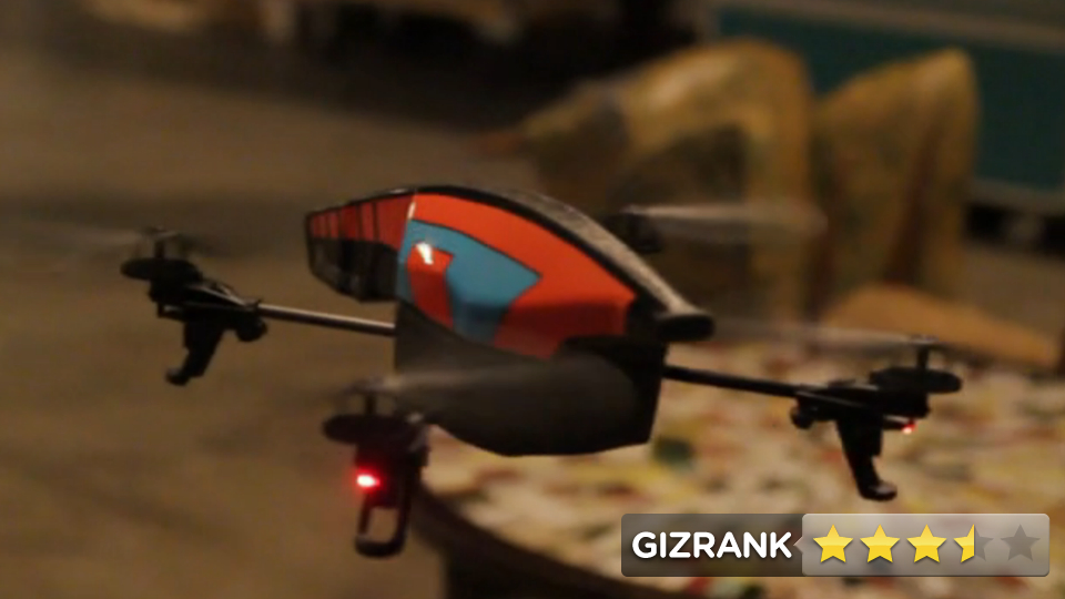 Click here to read Parrot AR Drone 2.0 Review: Your Own Private Predator