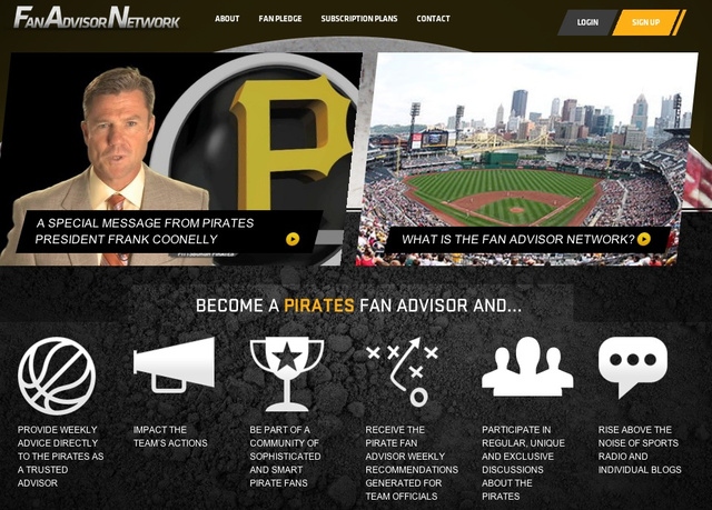 Fan Of The Pittsburgh Pirates? Prove It By Paying Them Money To Join Their Stupid Fan Club. [UPDATED]