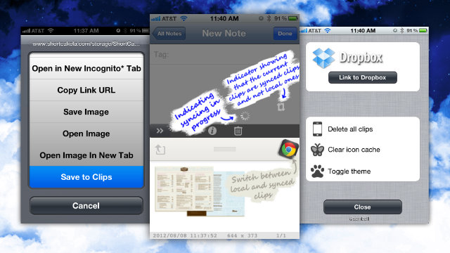 Click here to read Clips Is a Clipboard Manager for Jailbroken iPhones That Syncs with Your Computer and Other iDevices