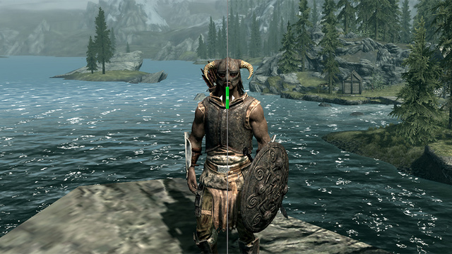 Compare Skyrim's Sucky Graphics With Its Awesome Graphics