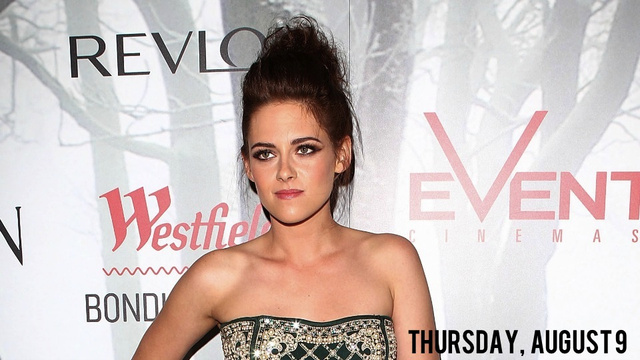 Mortified Kristen Stewart Crawling into a Hole and Never Coming Out