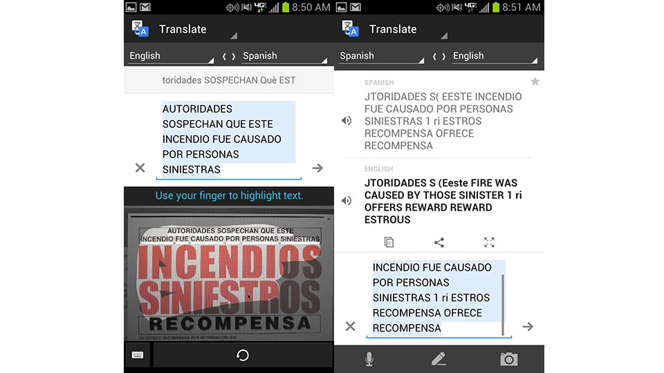 Click here to read Google Translate for Android Can Read Pictures in Foreign Languages Now