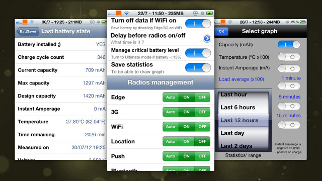Click here to read BattSaver Automates Settings on Jailbroken iPhones to Save Battery Power