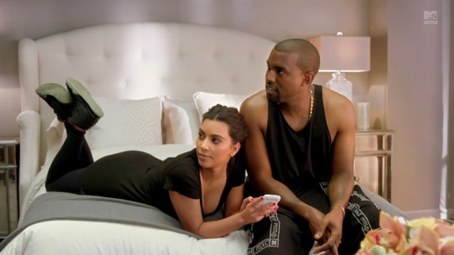 Kim and Kanye Want You to Watch Kim and Kanye at the MTV Awards
