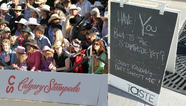 Report: 'Nose Hill Gentlemen' Were Calgary Stampede Promoters Giving Away Free Tickets