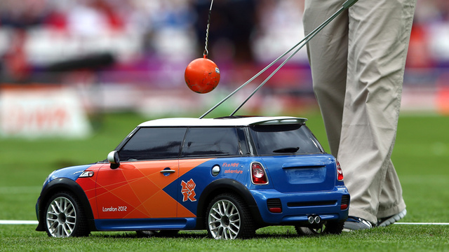 Of Course Those German Minis At The Olympics Are Advertising