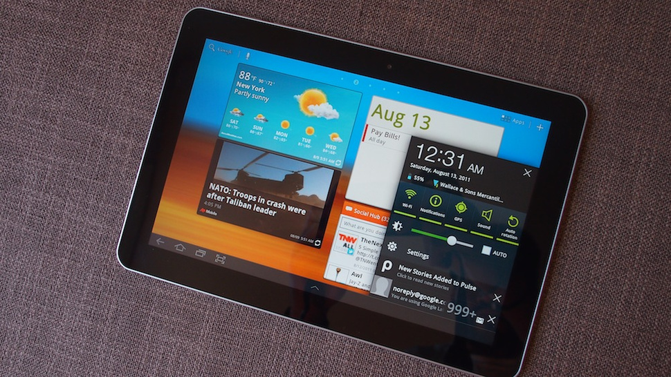 Samsung Galaxy Tab 10.1 Touchwiz Lightning Review: Google Tablets Transformed?