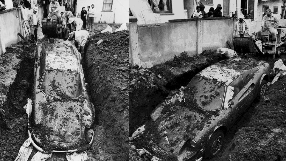 We Solve The Mystery Of How A Ferrari Ended Up Buried In