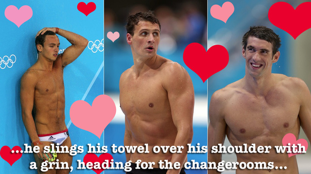 Fifty Strokes of Gay: The Wonderfully Weird World of Filthy Olympic Swimming Fanfiction