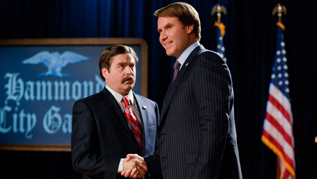 Zach Galifianakis And Will Ferrell Race To The Middle. The Campaign, Reviewed.
