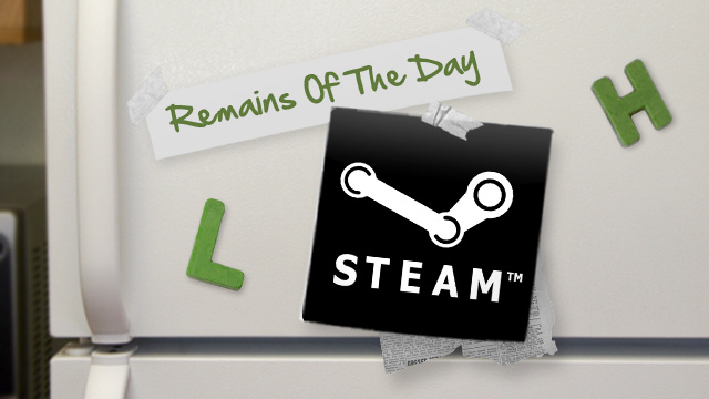 Remains of the Day: Steam Moves Beyond Games, Will Add Other Apps to Its Online Store