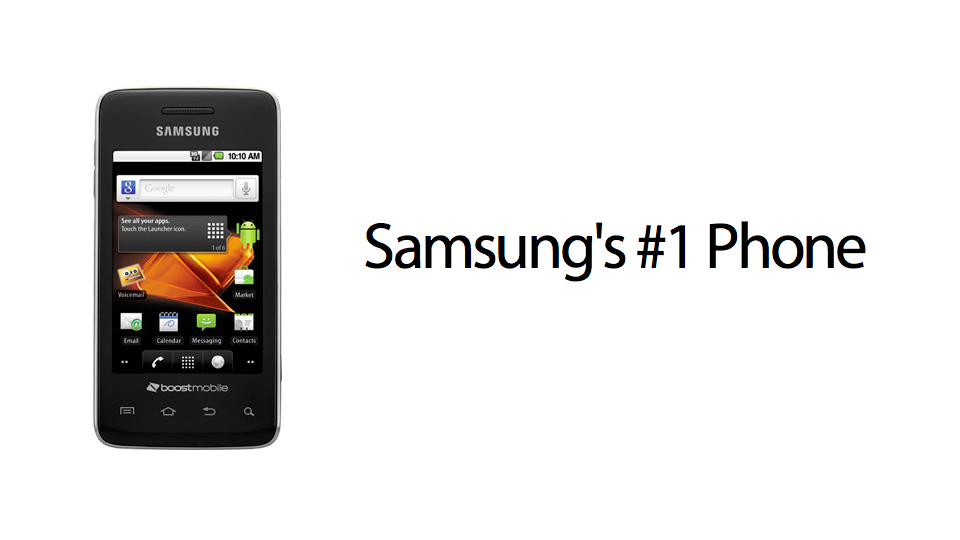 Click here to read The Most Popular Samsung Phone Is Something Called the Samsung Galaxy Prevail
