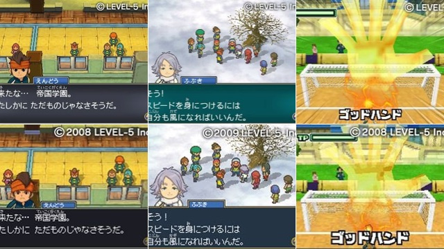 Does this Japanese Soccer RPG Look Better on the 3DS? Yes.