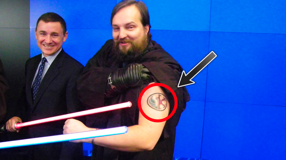 Click here to read Report: BioWare Honcho Leaving <em>Star Wars: Old Republic</em> Studio, Probably Regrets This Tattoo