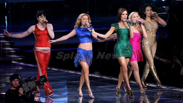 london olympics - The Olympics Finally Have A Purpose: Spice Girls Spotted Practicing for the Closing Ceremonies