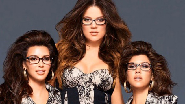 The Kardashians Struggle to Appear Normal While Simultaneously Wearing Eyeglasses