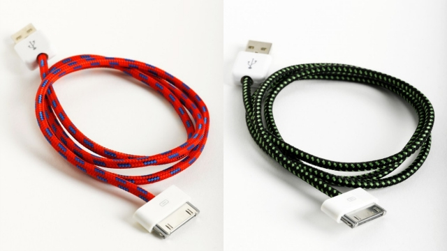 Click here to read Too Bad These Stylish iPhone Cables Are About To Be Obsolete