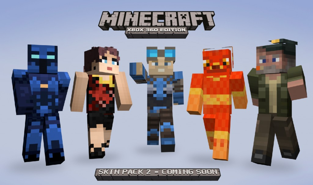 Without peeking can you name these five minecraft ised xbox heroes