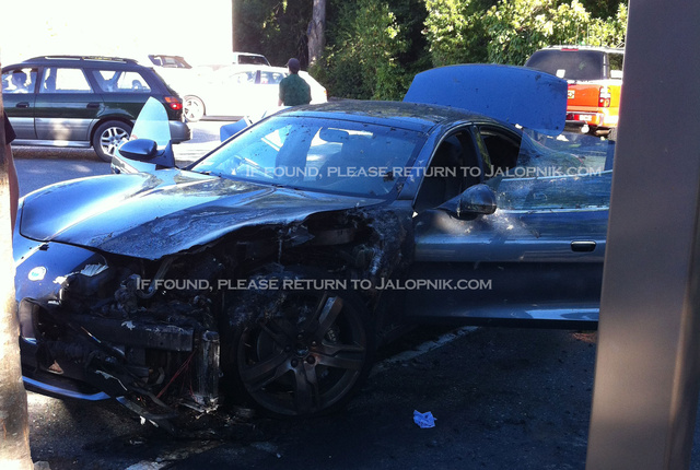 EXCLUSIVE: Fisker Karma Fire Pics