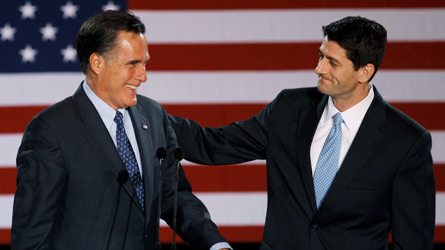 Mitt Romney Picks Paul Ryan as VP