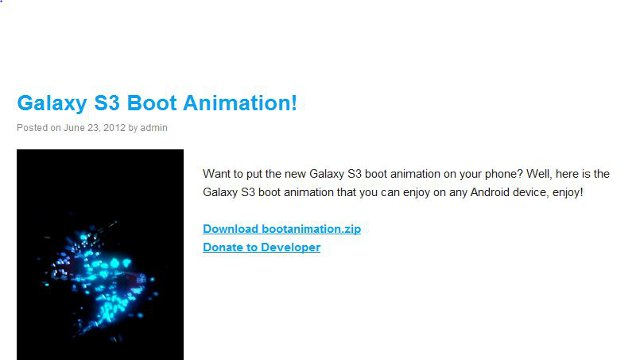 Click here to read Download New Android Boot Animations