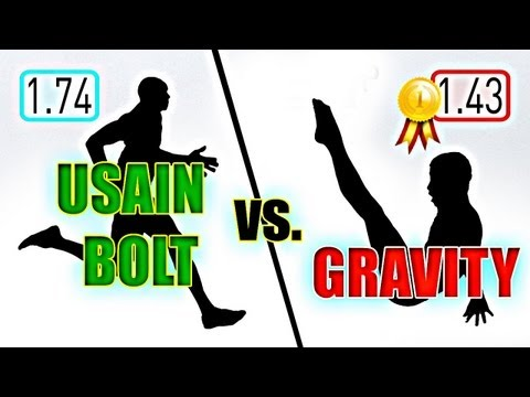 Click here to read Is Usain Bolt Actually Faster Than Gravity?