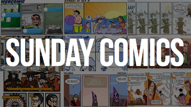 Sunday Comics: It's Not Stealing, It's Copying
