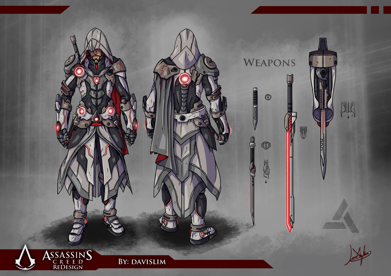 Assassin's Creed Redesign – Concept Art [DeviantArt, via Copiously ...