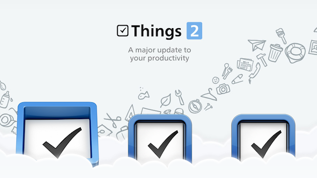 GTD-Powered To-Do App Things Updates, Now Syncs To-Dos and Projects Across Devices