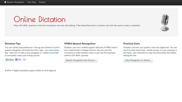 Click here to read Dictation Is a Free, Easy-to-Use Speech-to-Text App for Chrome