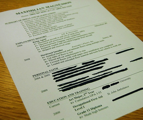 ask lh what should i exclude from my resume lifehacker
