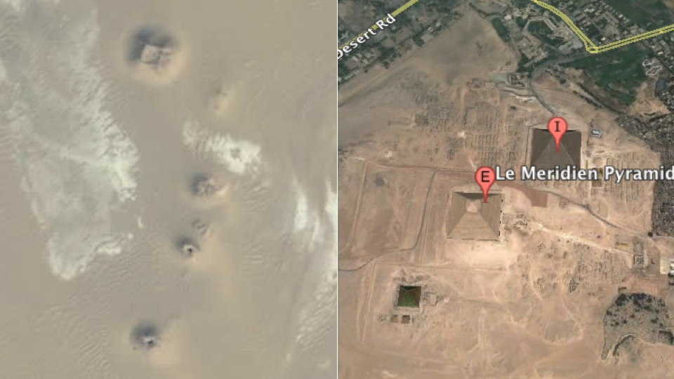 Click here to read Lost Egyptian Pyramids Appear on Google Earth